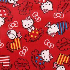http://www.kawaiifabric.com/en/p7973-red-Hello-Kitty-sweet-heart-bow-oxford-fabric.html