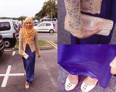 Blue Blood. (by Nadya Abd) http://lookbook.nu/look/2589659-Blue-Blood
