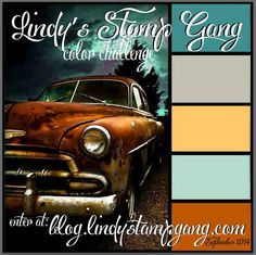 Color palette - September 2014            Lindy's Stamp Gang