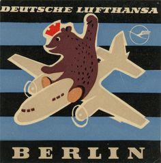 Lufthansa baggage labels