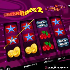 """Good, better, super! Our new game """"Super Lines 2 Go"""" has just been released! With the well-loved four-reel-game, Super Lines 2, fun is in line with winning chances. Watch out for the bubble ring, which can lead you from bubble to bubble multiplying your winnings by up to four times. That is just super! Super Lines 2, a game for those, for whom good is not good enough!"""