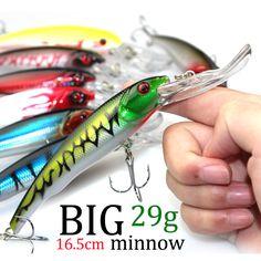 $1.97 (Buy here: https://alitems.com/g/1e8d114494ebda23ff8b16525dc3e8/?i=5&ulp=https%3A%2F%2Fwww.aliexpress.com%2Fitem%2F3D-Eyes-Plastic-Crank-Bait-Swimbait-30g-16-5cm-Minnow-Fishing-Lures-Japan-Deepswim-Saltwater-Hard%2F32636789144.html ) 3D Eyes Plastic Crank Bait Swimbait 30g 16.5cm Minnow Fishing Lures Japan Deepswim Saltwater Hard Bait Sinking Wobbler #D1 for just $1.97