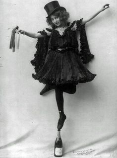 1904: Champagne Bottle Dancer - Is this real?!? What have I done with my life?