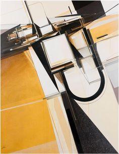 AUGUSTINE KOFIE - GOLDEN SHIFT GRID - DAVID BLOCH GALLERY http://www.widewalls.ch/artwork/augustine-kofie/golden-shift-grid/ #Acrylic
