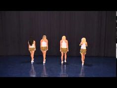 I wanted to learn this routine at cheer camp so badly!