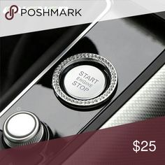Crystal diamond start engine button deco Buy at jfordfashion.com On Sale Now Other