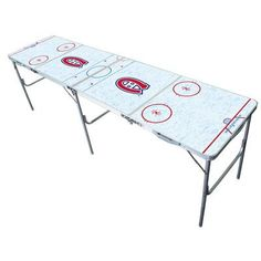 """Tailgate Toss NHL 2"""" x 8"""" Tailgate Table NHL Team:"""