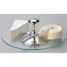 Plateau à fromage avec couteau