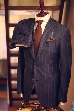 "#Farbbberatung #Stilberatung #Farbenreich mit www.farben-reich.com tailorablenco: "" Suit : 'Loropiana' Cotton& Wool -..."
