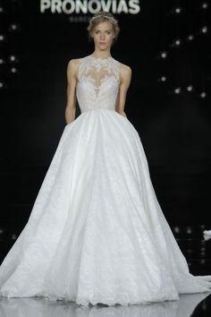 Vestidos de novia corte princesa 2017: 65 diseños extraordinarios que no querrás dejar escapar Image: 9