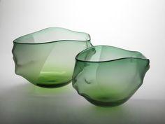 Experimental glas off Bibi Smit