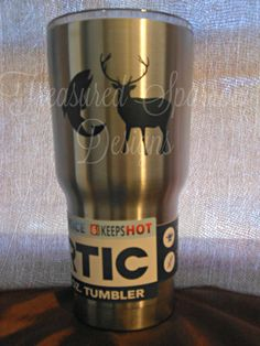 This hunting tumbler is perfect for the outdoorsman in your life. https://www.etsy.com/listing/474999782/hunting-fishing-rtic-tumbler-30-oz