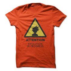 ATTENTION! EVOLUTION IN PROGRESS T-SHIRTS, HOODIES, SWEATSHIRT (21.99$ ==► Shopping Now)