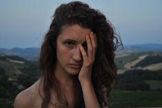 Self portrait San Valentino, Italy
