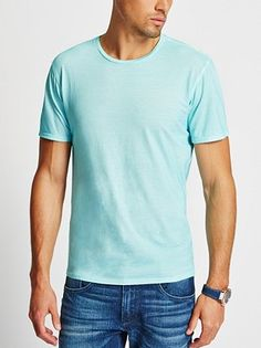 GUESS GUNNAR CREWNECK WASHED TEE