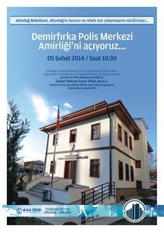 Demirfırka Polis Merkezi Amirliği'ni açıyoruz.