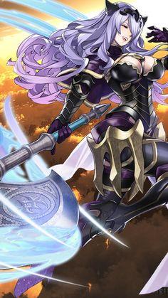 Fire Emblem Fates: Camilla iPhone wallpaper set