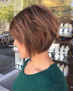 Resultado de imagen de short layered hairstyles