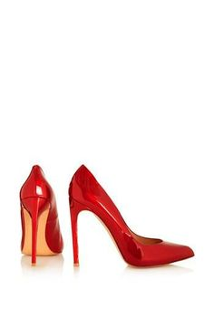 Seeing red! Pump by Topshop
