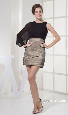 http://www.ikmdresses.com/One-Sleeve-Sheath-Column-Scoop-Satin-Chiffon-Fine-Netting-Homecoming-Dress-p20816