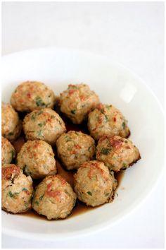 Turkey meatballs. SWANK NOTE Use extra lean ground turkey or ground turkey breast.
