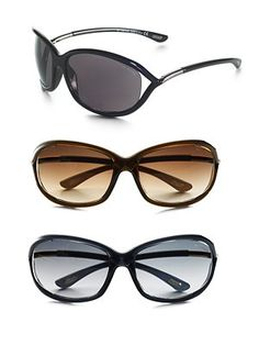 Very flattering sunglasses for all face shapes....Saks fifth ave