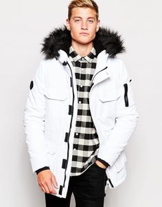 I feel like parka's are a jacket most men would wear, but one they ...