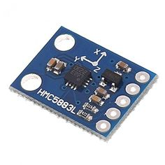 """Brought to you by Avarsha.com: <div><div>3-Axis Magnetic Electronic Compass Model GY-273 Power Supply : 3-5V PCB Board Size : 18 x 14 x 2.8mm/0.71"""" x 0.55"""" x 0.11""""(L*W*T) Refer to the datasheet for more details.</div><div>Arduino</div></div>"""