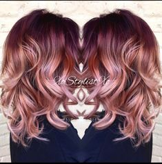 Rose Gold Hair Color 25summer hair inspiration, summer haircolor, summer hair colour, summer hairstyles, styles, coloring, updo, long, blonde, for brunettes, short, braids, medium, cuts, 2018, 2019, 2020, festival hair ideas, bayalage, pink, acessories, brown, dark, red, quotes, fringe, tutorials bags, highlights
