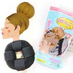 Convenient Style Doughnut Shape Hair Tool