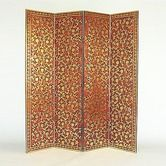 Found it at Wayfair - Bronzed Vine Room Divider