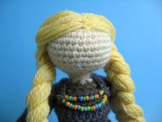 Norse Girl Gudrun by YarnPaint on Etsy, $40.00