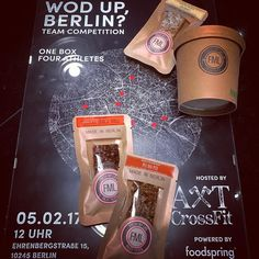 #WOD up #BERLIN  come by this sunday @axtcrossfit and support your box at the team #competition  Our #paleo #bars and #muesli are waiting for you there to fuel you with #energy #crossfitberlin #crossfit #eatwithoutregrets  #freshmylife #commitment #hardwork #noexcuses #progress #life #goals #paleo #primal #lifestyle #crossfitberlin #crossfitmotivation #liftheavy #fitness #athlete #fitnessmotivation #fitnessgoals #fit #strong #fitnessfood #fitfam