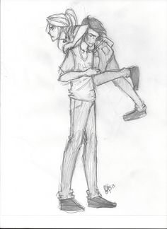 Percabeth *cause when the girls are agry, guys never takes it sirously, and that's how they chear us up :) calm and happy :) ^^