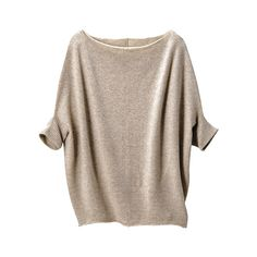 DI Cashmere Dolman Sleeve Sweater -UNIQLOUKOnlinefashionstore ($155) ❤ liked on Polyvore featuring tops, sweaters, shirts, jumpers, shirts & tops, dolman sleeve tops, cashmere shirt, cashmere jumper and uniqlo sweaters