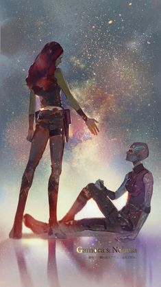 A salute to all the MCU ladies👑 . Endgame was a lot of things, but, by far, one of my favorite parts was watching all the mcu ladies… Nebula Marvel, Gamora And Nebula, Marvel Avengers, Marvel Heroes, Marvel Universe, Thor, Die Rächer, Dc Memes, Guardians Of The Galaxy