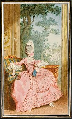 1770 Madame la duchesse de Chartres by Louis Carrogis (Musée Condé - Chantilly France)