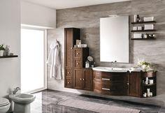 #Eban #composizione Gloria #107   su #casaebagno.it a 1246 Euro/set   #composiozioni #mobili #bagno #arredamento #design