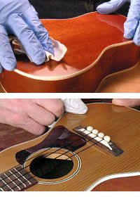 French Polish for guitar
