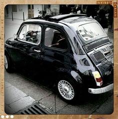 Old Fiat, Rue Cler, Paris