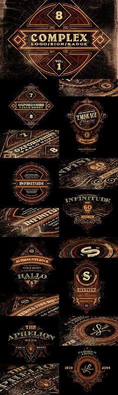 Complex Logos/Signs/Badges v.1 21942