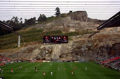 Braga stadium... Carved into a mountain *Ron Burgandy voice*