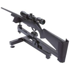 New Steel GUN REST Shooting Range Portable Rifle Bench Stand Target Hunting