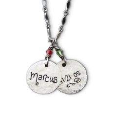 I am going to get this as soon as Bristol is born. I will have to charms, one for Sydni and one for Bristol and their birth date will be on the back! :)