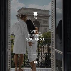 """37 Likes, 1 Comments - GentlemenSpeak (@gentlemenspeak) on Instagram: """"#gentlemenspeak #gentlemen #quotes #follow #life #survive #paris #hotel #balcony #together #couple…"""""""