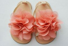 Summer sandals for baby girls by Kellseys. I don't have a child, but if I had a little girl, these would be on her feet this summer!