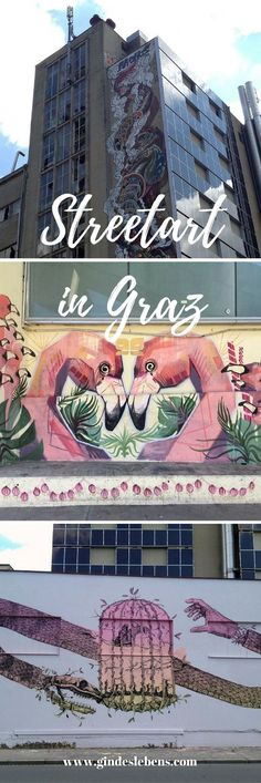Heimatliebe Austria - Street art in Graz in beautiful Styria. Tromso, Europe Travel Guide, Travel Destinations, Travel Humor, Funny Travel, Heart Of Europe, Street Art Graffiti, Austria, Travel Inspiration