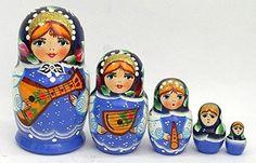 5 pcs. Russian Nesting Doll