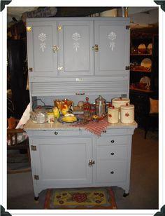 The Red Door: Sellers Kitchen Cupboard