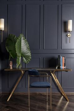 Trendy bedroom dark walls bachelor pads ideas Trendy bedroom dark walls bachelor pads ideas It is an economical option to a family that wants the l. Blue Bedroom Walls, Bedroom Green, Bedroom Ceiling, Bedroom Wall Lights, Blue Bedrooms, Light Blue Walls, Dark Walls, Home Room Design, Home Interior Design